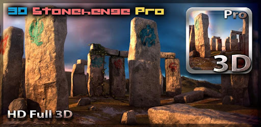Amazing 3D live wallpaper with stunning Stonehenge ruins!