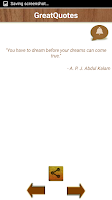 Screenshot of Great Quotes - Best Sayings