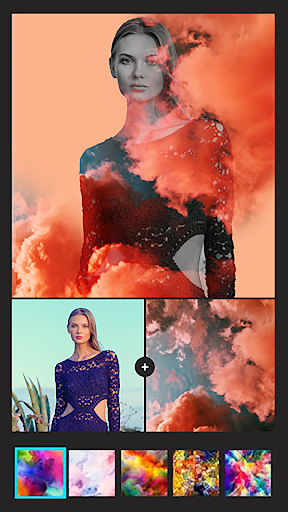 Instasquare Photo Editor: Drip Art, Neon Line Art 2.1.8 Screenshots 3