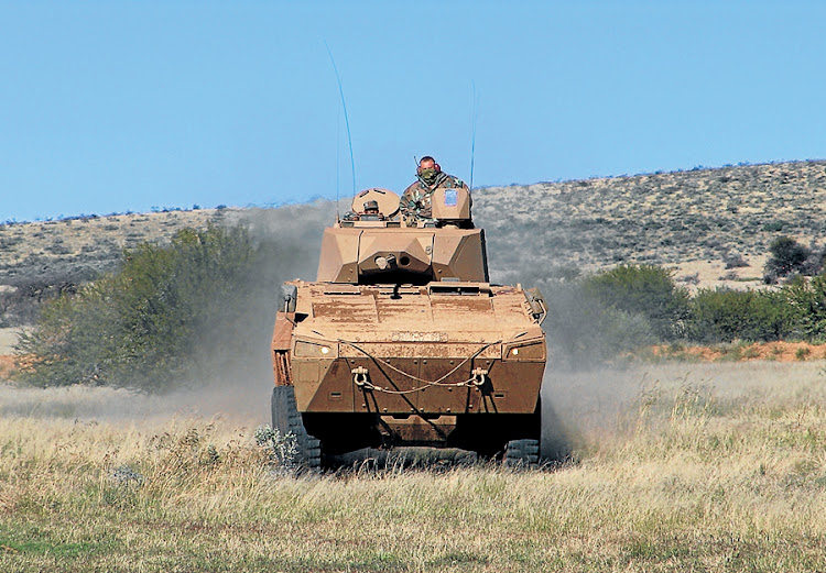 An armoured modular vehicle made by Denel Land Systems. Picture: SUPPLIED