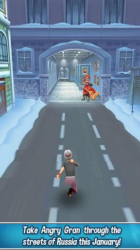 Code Triche Angry Gran Run - Running Game APK MOD screenshots 2