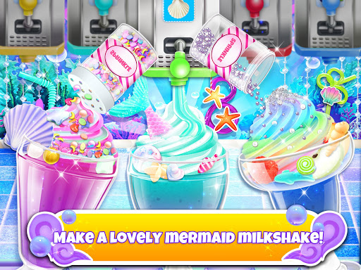 Unicorn Chef: Mermaid Cooking Games for Girls 2.1 screenshots 3