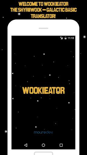 Wookieator: Wookiee translator