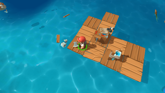 Epic Raft: Fighting zombie shark survival MOD (unlimited everything) 5