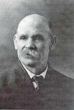 Photo: Nephi Jackson was born on March 8, 1847 in Manchester, England to Benjamin Jackson and Ann Grimshaw.  He married Mary Ann Ockey on January 4, 1880. They were blessed with two children: Ellen Jackson born 1872 and died 1881; and Leon Nephi Jackson born 21 May 1888 and died 9 October 1961.  Nephi died on 13 August 1928.