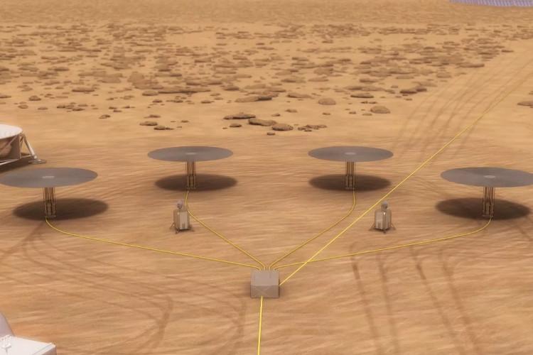 Các lò phản ứng hạt nhân trên sao Hỏa.