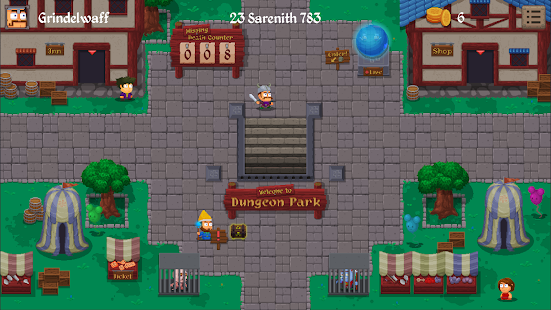 Dungeon Park Heroes – miniatura snímku obrazovky