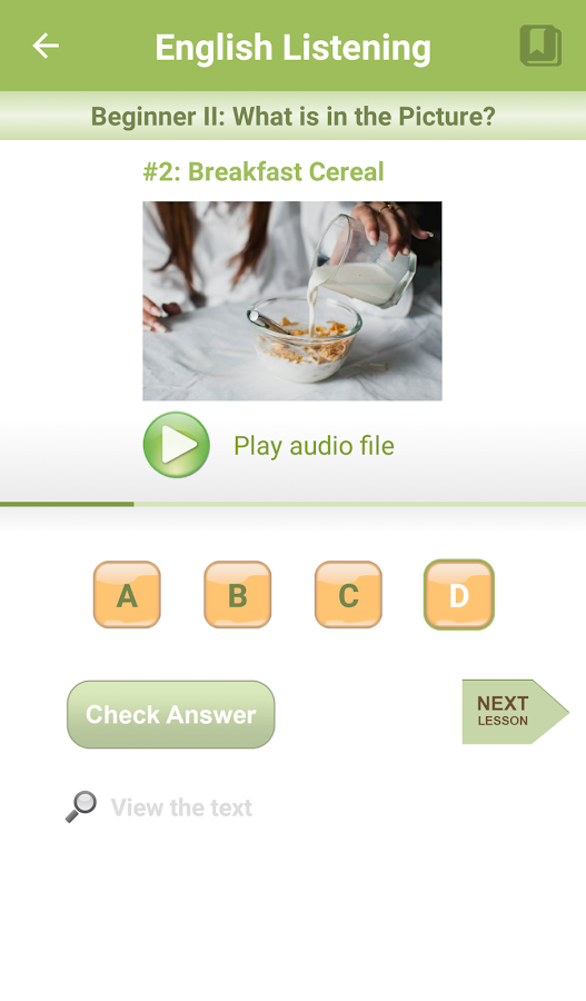 English Listening- screenshot