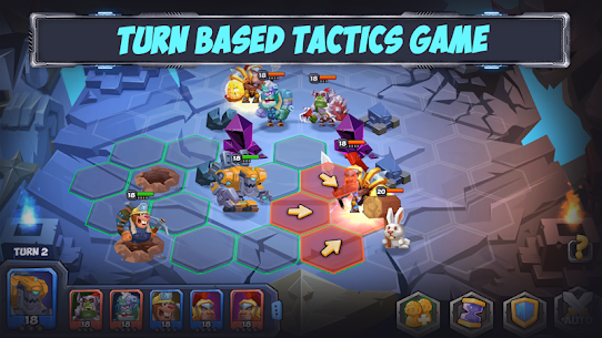 Tactical Monsters Rumble Arena MOD APK [High Attack + Defense] 1.18.6 9