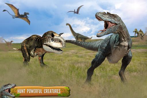 Dino Family Simulator: Jeux de dinosaures  captures d'u00e9cran 1