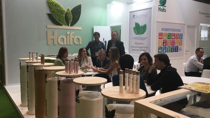 El equipo de Haifa en Fruit Attration.