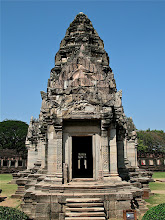Photo: front view of main sanctuary, Phimai