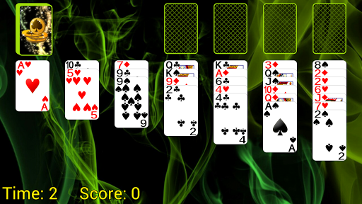 Queenie Solitaire apkmind screenshots 1