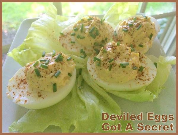 Deviled Egg's Got A Secret Recipe
