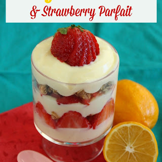 Meyer Lemon and Strawberry Parfait