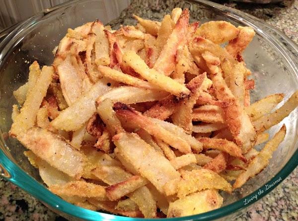 Crispy Baked Potato Fries Recipe