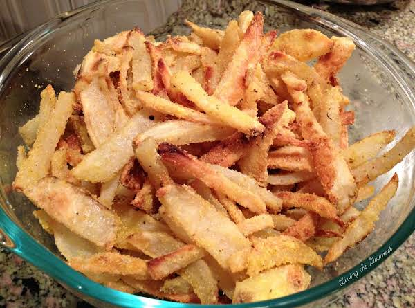 Crispy Baked Potato Fries Recipe