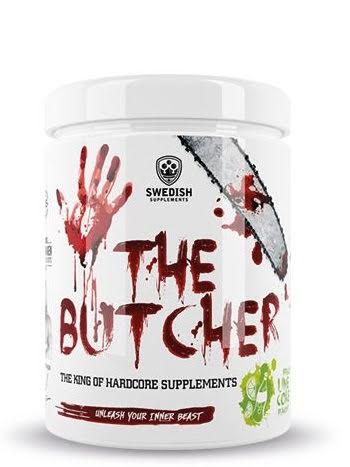 Swedish Supplements The Butcher 0,5kg - Black Razz