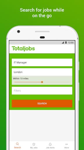 Totaljobs Job Search screenshot 1