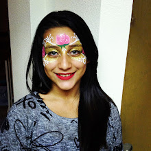 Photo: Flower face painting by Raelynn, Azusa, Ca. Call to book her today! 888-750-7024