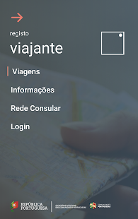 Registo Viajante- screenshot thumbnail