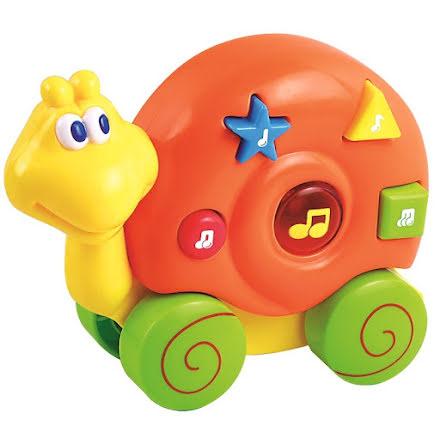 Buddy Baby Musikdjur med Hjul, Snigel