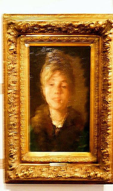 PORTRAIT OF A WOMAN GRIGORESCU ZAMBACCIAN MUSEUM