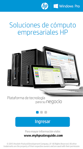 HP Comercial 1.7.2 screenshots 1
