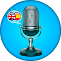 English - Spanish. Translator icon