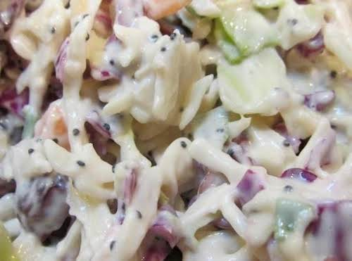"Click Here for Recipe: Rainbow Cole Slaw ""I created this recipe just..."