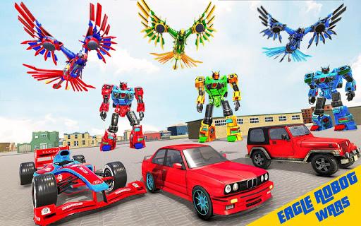 Eagle Robot Car Game – Formula Car Robot Games 1.1.0 screenshots 2