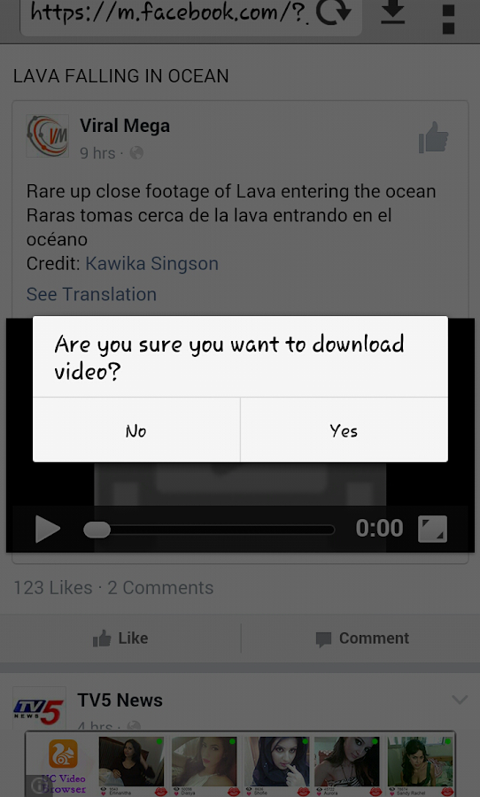Videos Downloader- screenshot