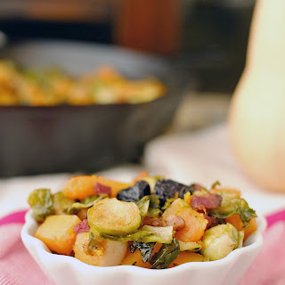 Roasted Brussels Squash Side Dish (Paleo + GF)