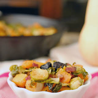 Roasted Brussels Squash Side Dish (Paleo + GF).
