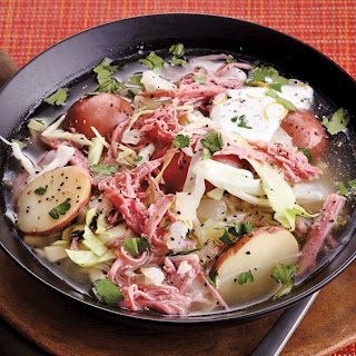 Slow-Cooker Corned Beef and Cabbage Stew.