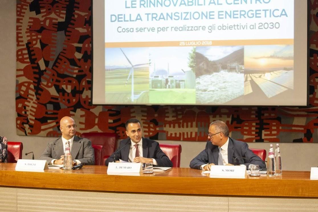 Luigi Di Maio, Simone Togni, Simone Mori - Photo credit: Elettricità Futura