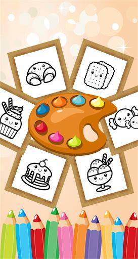 玩免費教育APP|下載ケーキキャンディColorbook着色ゲーム app不用錢|硬是要APP