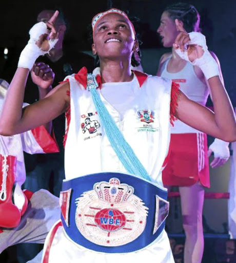 WBF champion Bukiwe Nonina going for IBF regional belt. / Supplied