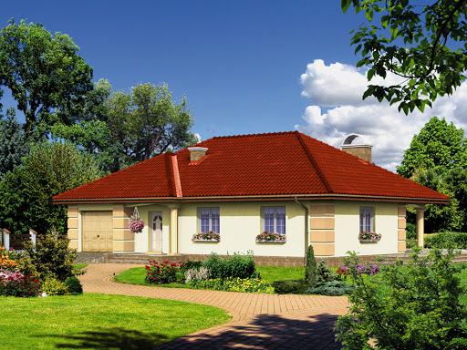 projekt Dom przy Kwiatowej