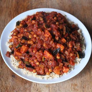 Roasted Vegetable Chickpea Tagine
