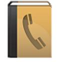 Telefoonboek nummerinformatie icon