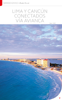 Screenshot of Avianca en revista