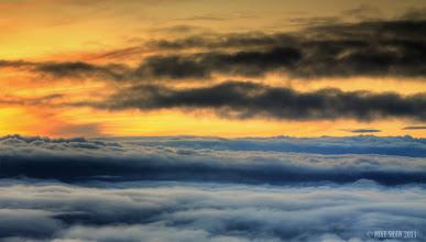 Photo: Sunset At 32,000 Feet