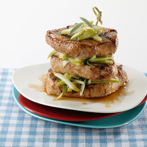 Pork Apple Stacks