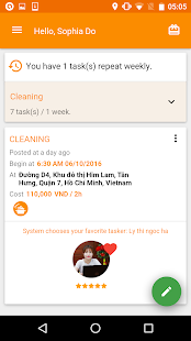 btaskee - Cleaning Services- screenshot thumbnail