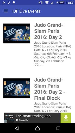 judo tv screenshot 2