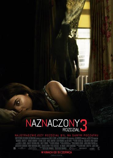 Polski plakat filmu 'Naznaczony: Rozdział 3'