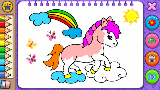 Princess Coloring Book & Games screenshots 2