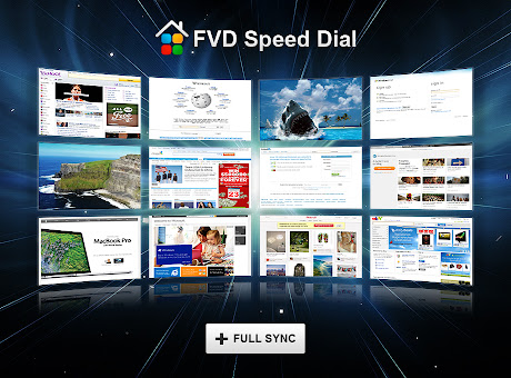 Speed Dial [FVD] - New Tab Page, 3D, Sync...