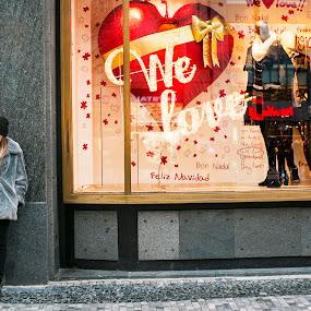 Waiting by Tomáš Celar - People Street & Candids ( tomáš, we love, girl, celar, fujifilm, x100s )